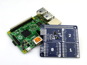 Modulowo® Explore™ R with ADC and EEPROM (for Raspberry Pi)